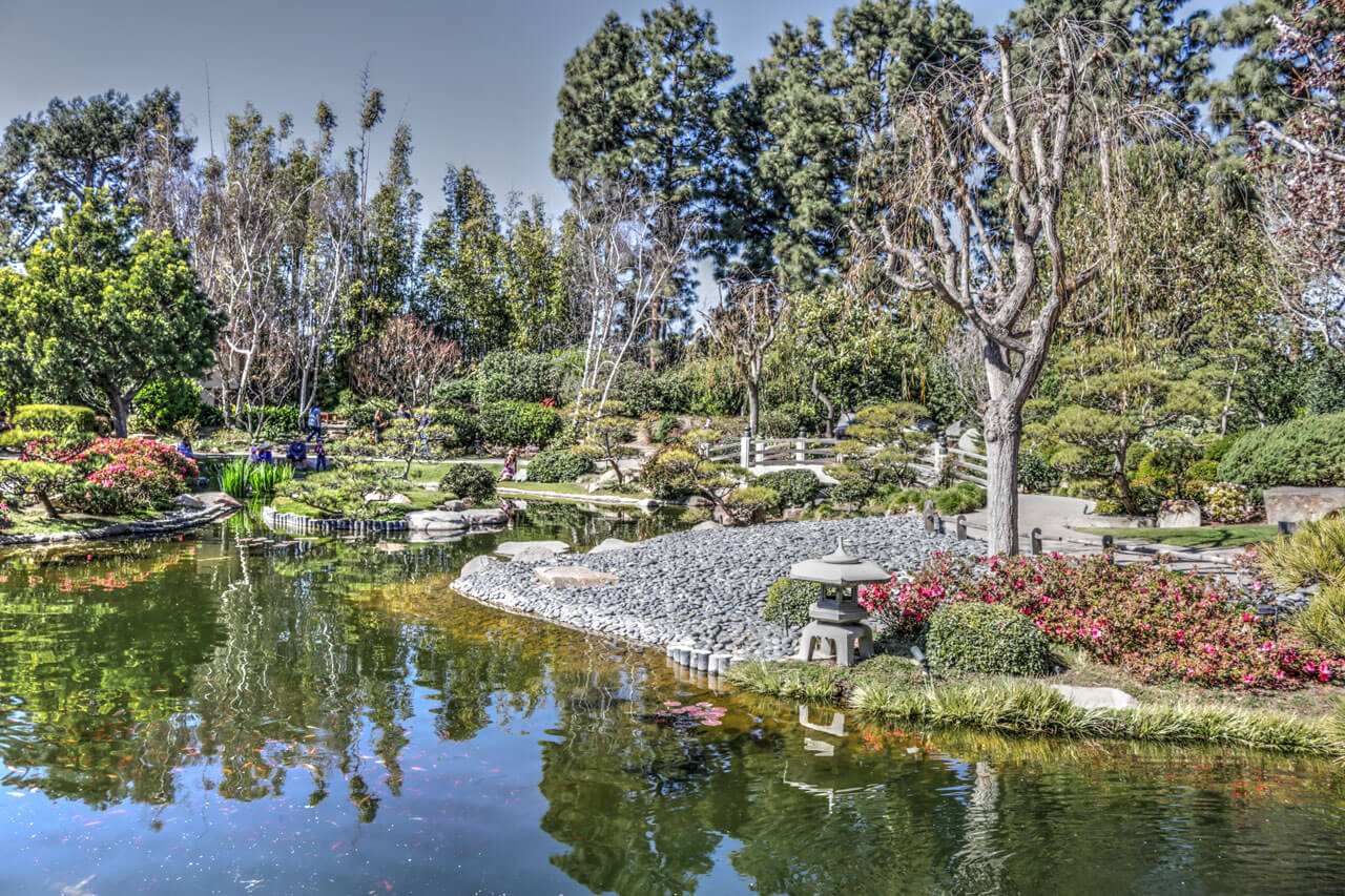 Earl Burns Miller Japanese Garden, Long Beach, CA