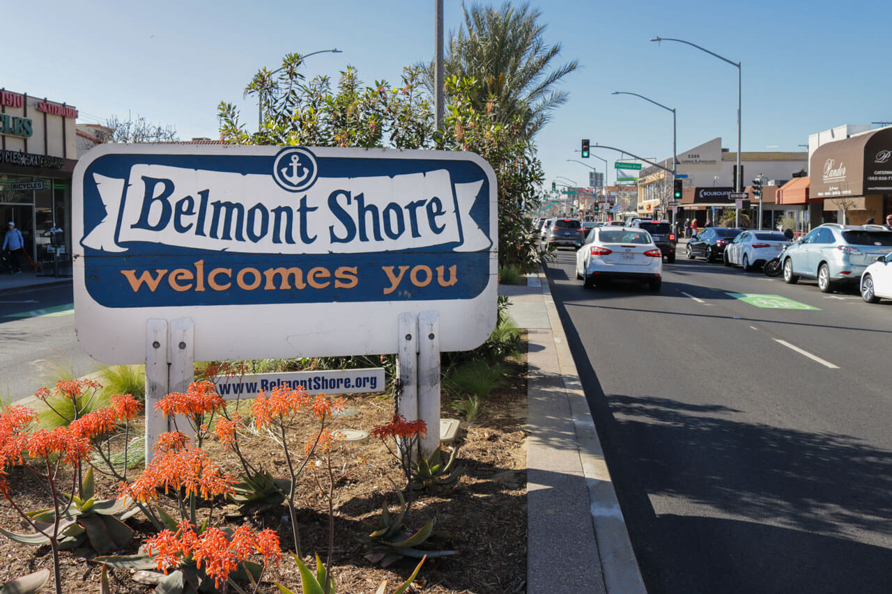 Second Street, Belmont Shore, Long Beach, CA