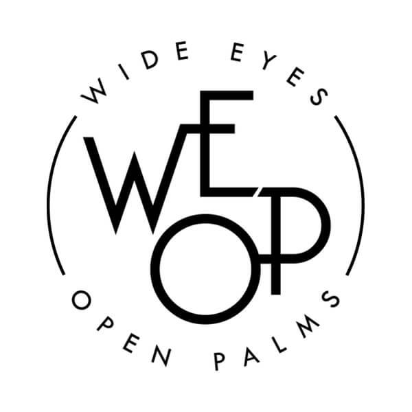 Wide Eyes Open Palms