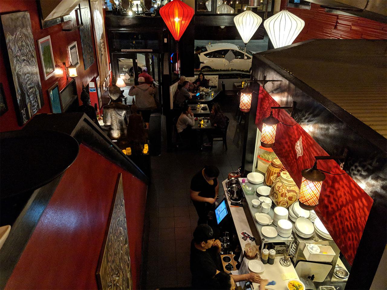 Thai District restaurant, Long Beach, CA
