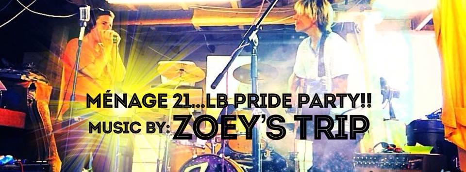 Menage 21 Lb Pride Party Visit Gay Long Beach