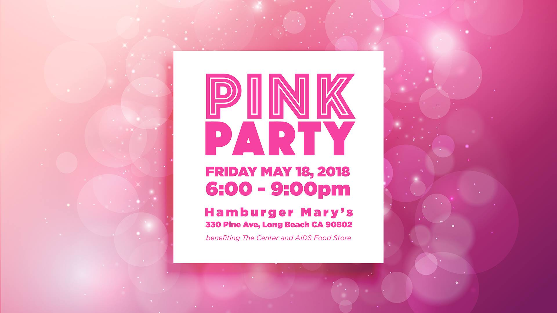 The 2018 Pink Party!