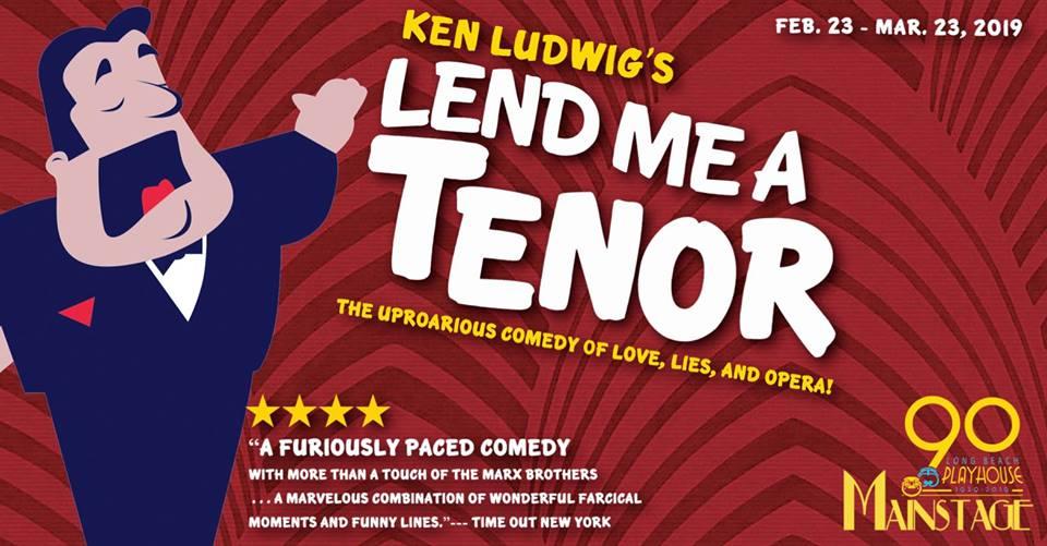 Lend Me A Tenor (Running Feb. 23 - Mar. 23, 2019)