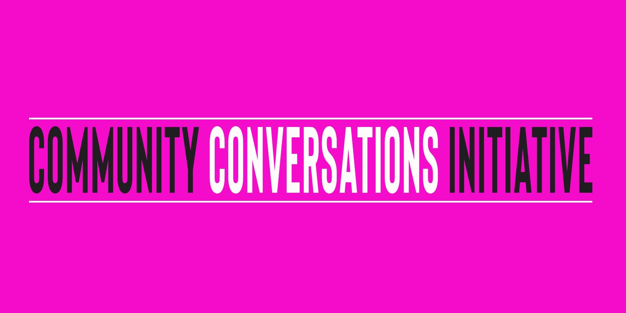 Community Conversations #2 Equity & Diversity in the Arts