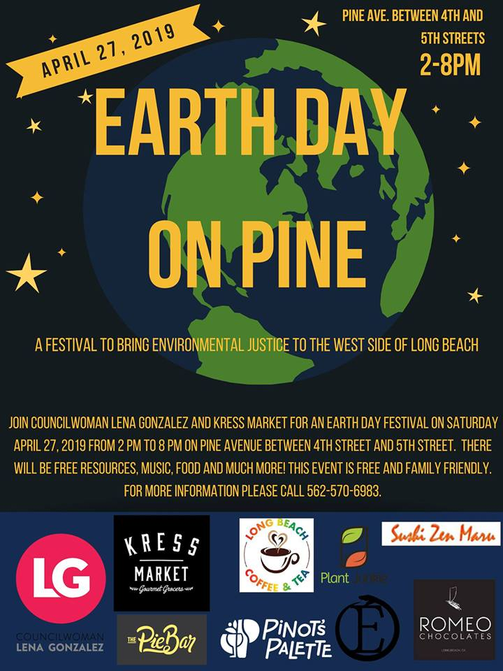 Earth Day on Pine Ave.