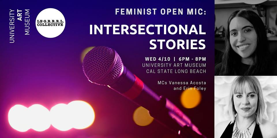 Feminist Open Mic- Intersectional Stories