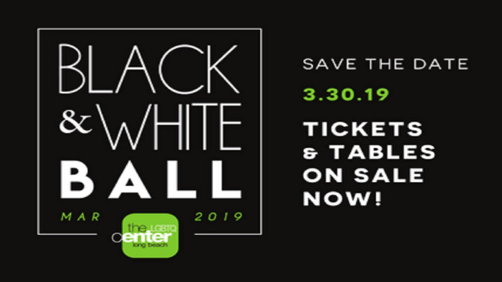 The 2019 Black & White Ball