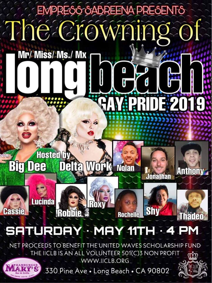 Crowning Of Mr/Miss/Ms/Mx LB Gay Pride