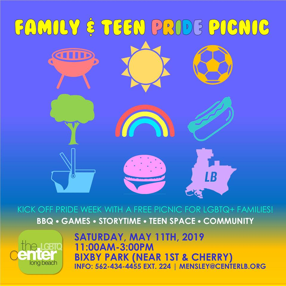 Family & Teen Pride Picnic