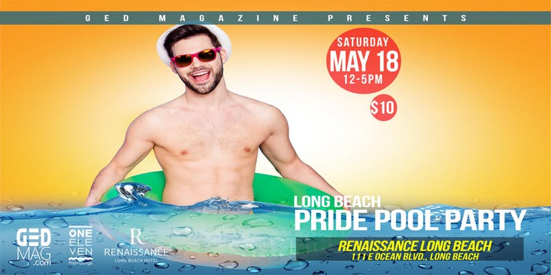 Long Beach Pride Pool Party