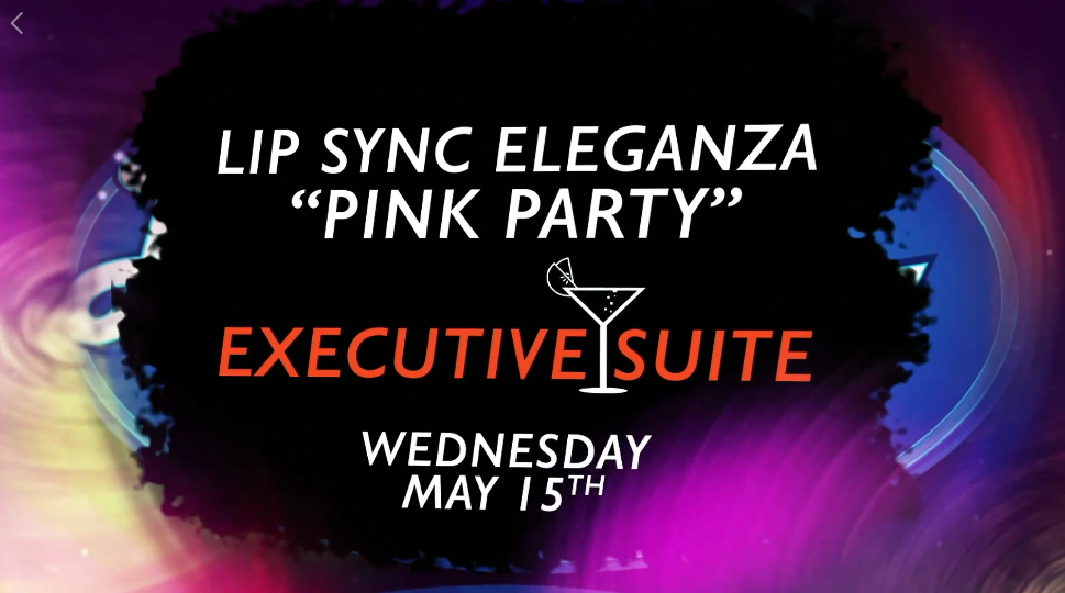 "Lip Sync Eleganza ""Pink Party"""
