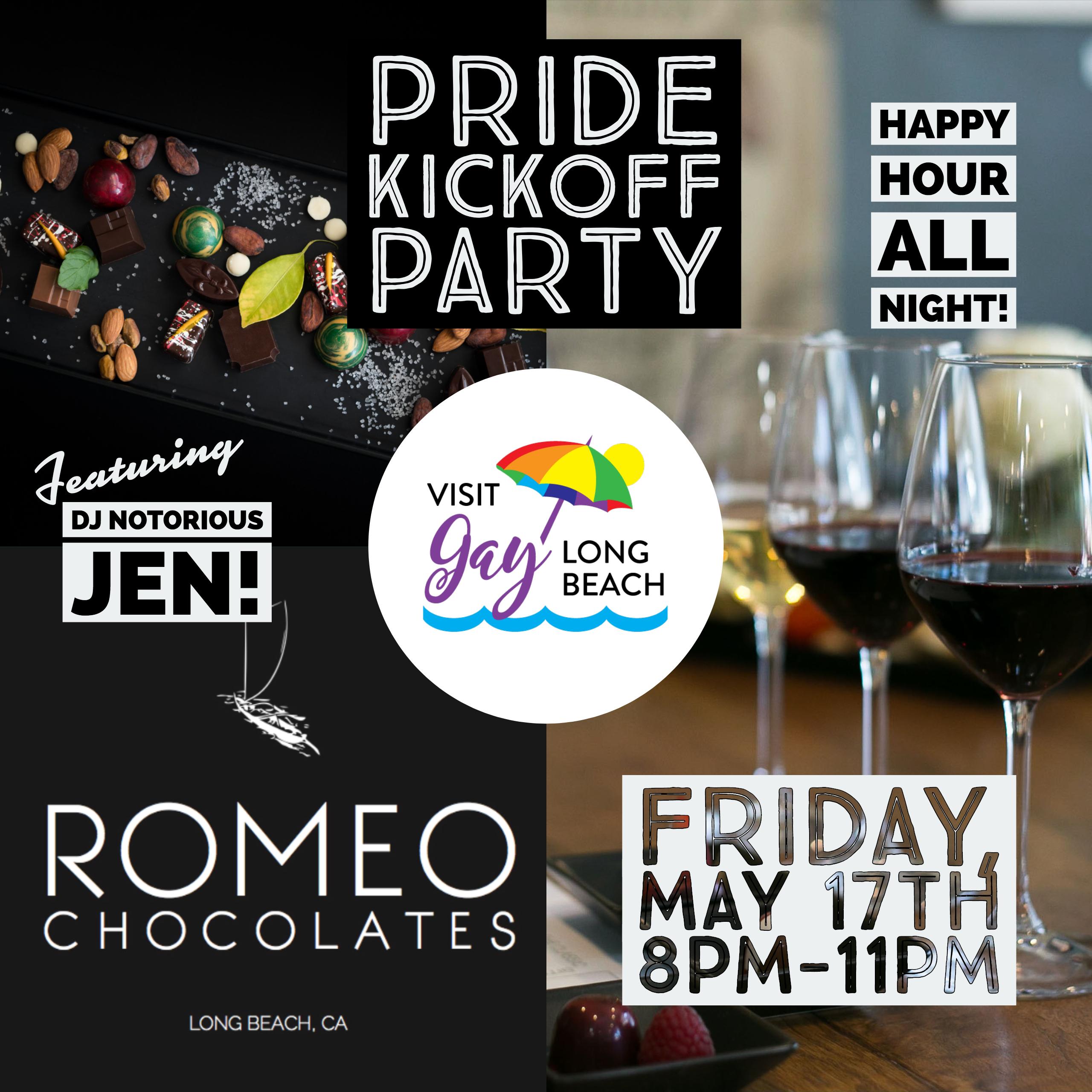 Visit Gay Long Beach's Pride Kickoff Party