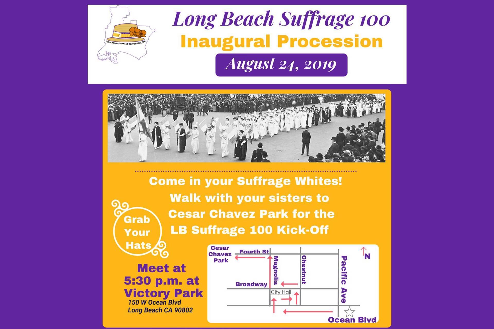 LB Suffrage 100 Inaugural Procession