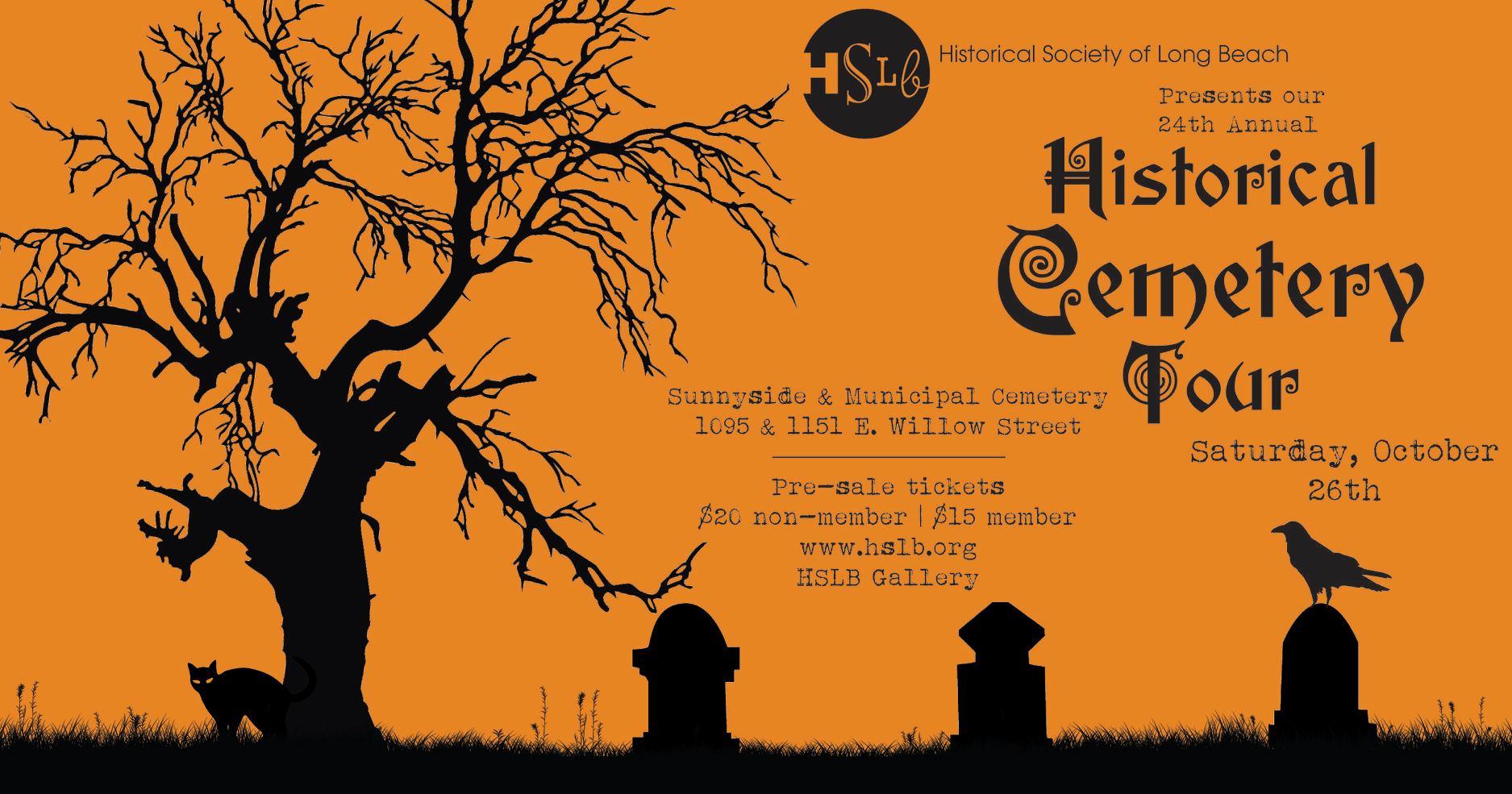 24th Annual Historical Cemetery Tour