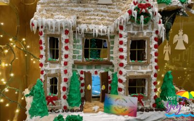 Gingerbread Village Display