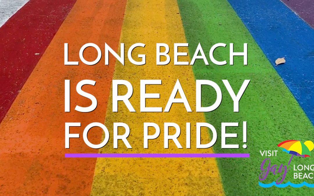 Long Beach Pride Flags