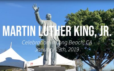 2019 Martin Luther King celebration in Long Beach, CA