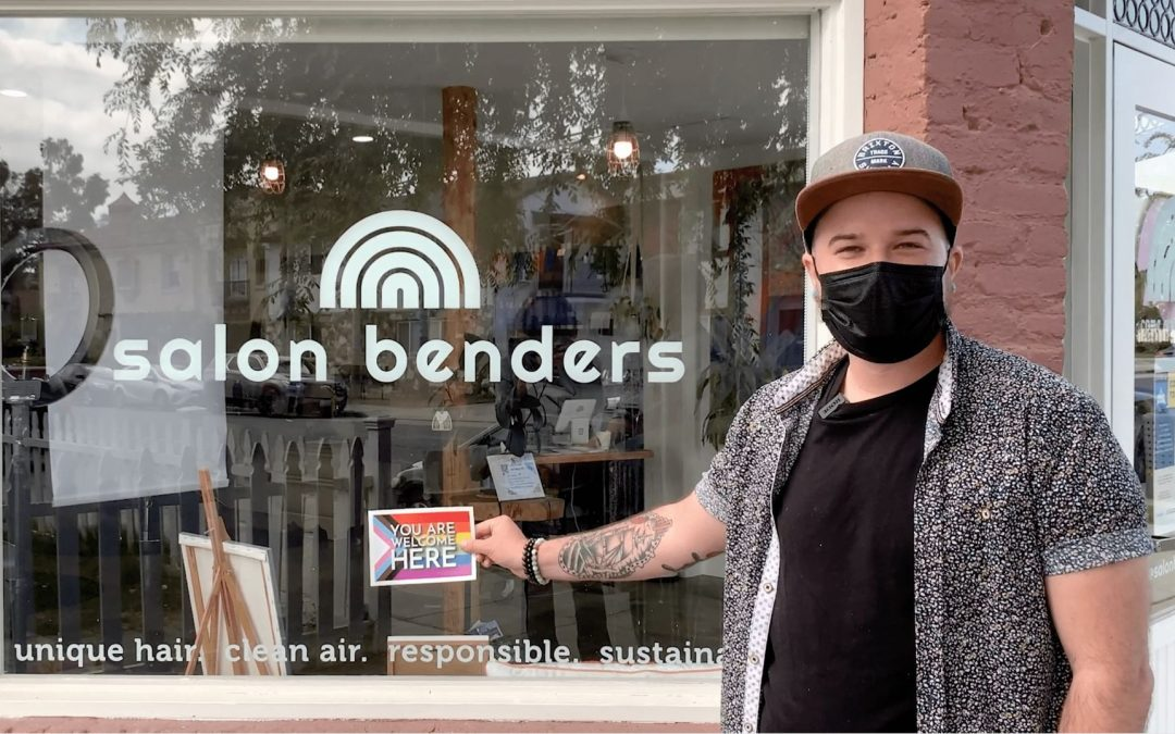 YOU ARE WELCOME HERE - Salon Benders